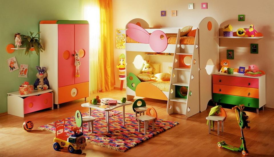 Игровая детская комната — выбор глазами ребёнка